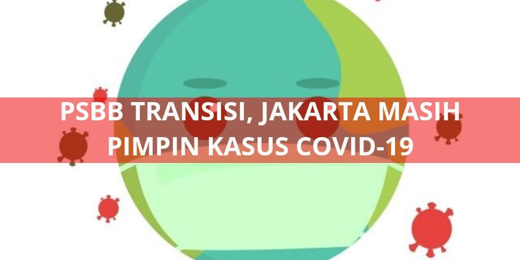 PSBB Transisi, Jakarta Masih Pimpin Kasus Covid-19.