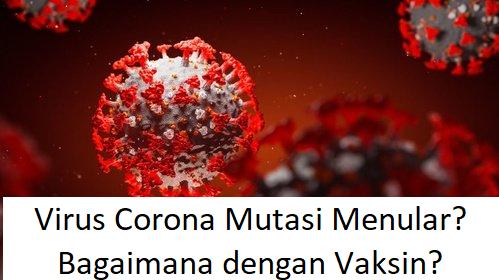 Virus Corona Mutasi Menular? Bagaimana dengan Vaksin?